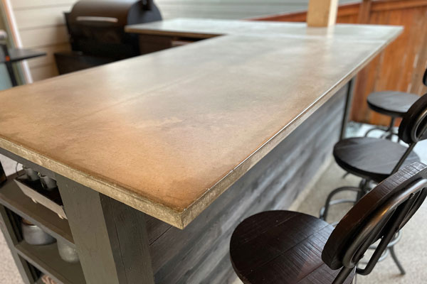 custom concrete countertops seattle wa concrete countertops seattle polished concrete. Black Bedroom Furniture Sets. Home Design Ideas