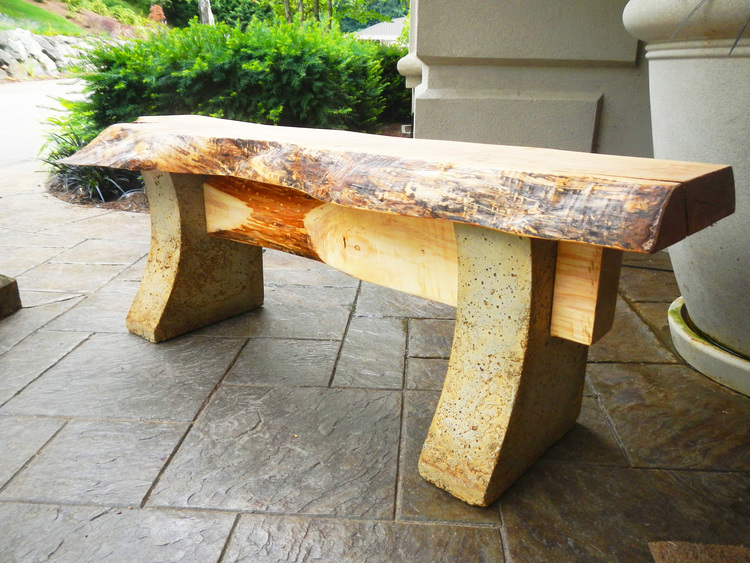 Custom Benches Part - 17: Custom Wood Benches For Patios And Entryways
