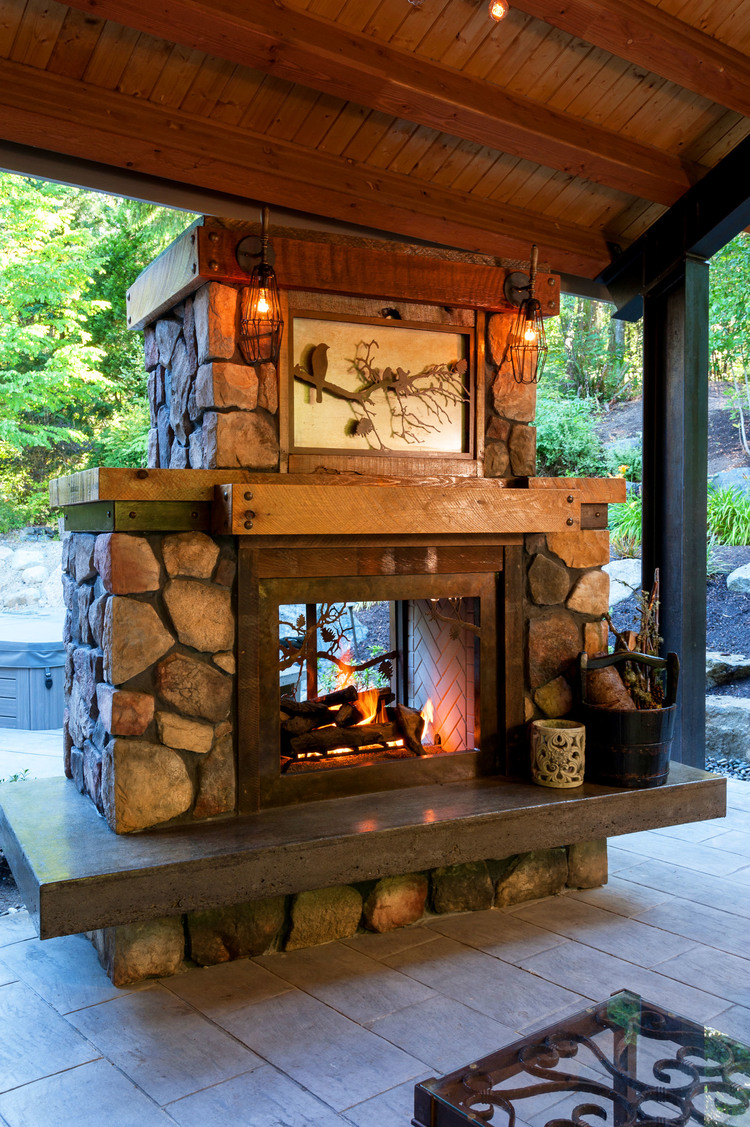 outdoor fire features seattle wa concrete wall art outdoor benches