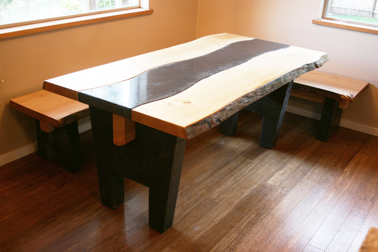Custom Wood Table Seattle Wa Custom Dining Tables