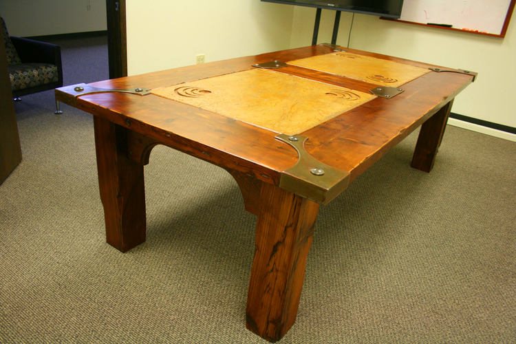 Custom Wood Office Furniture Clyde Hill WA | Wood Conference ...